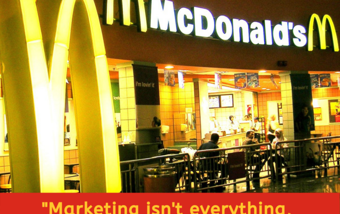 McDonald's Marketing Mantra