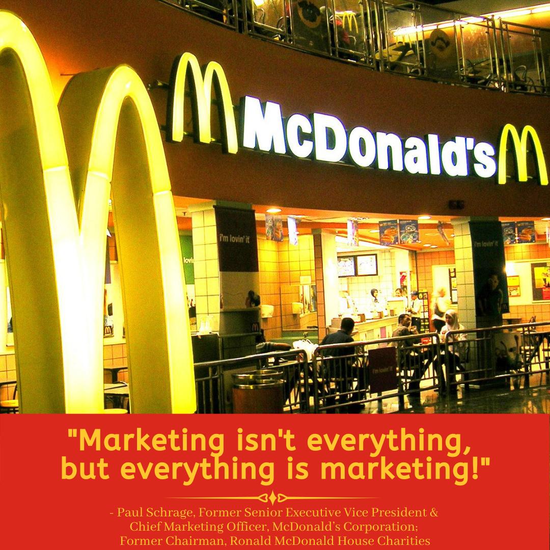 McDonald's Marketing Mantra